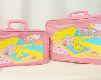 Care Bears (and Cousins) Two Piece Luggage Set