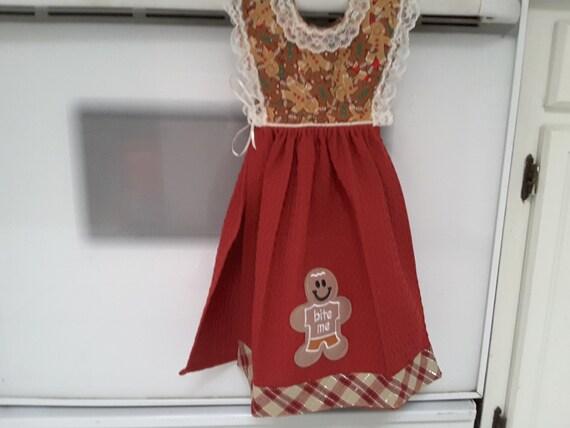 Christmas themed kitchen dress towel H2