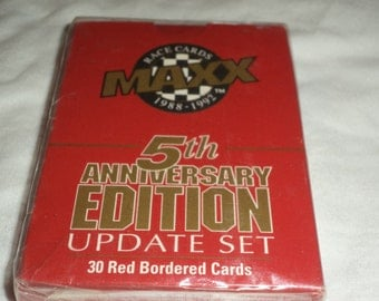 1988-1992Maxx Race Cards