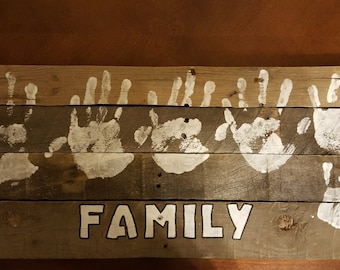Barnwood Family Wall Decor/Hanging Pictures