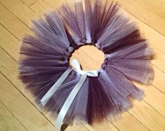 Purple Swirl Ribbon Tie Tutu