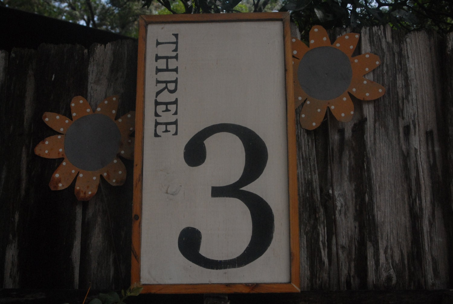 number 3 decor sign no 3 perfect for by middletonmercantile