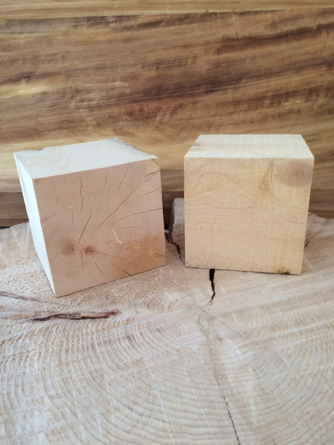 Pinyon pine inch wood blocks