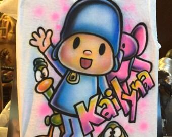 CHILDREN custom airbrushed shirt