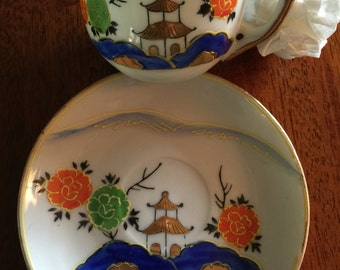 Demitasse  Cup & Saucer, Occupied Japan, Collectable