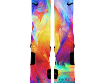 Brush Stroke Elite Graphic Socks