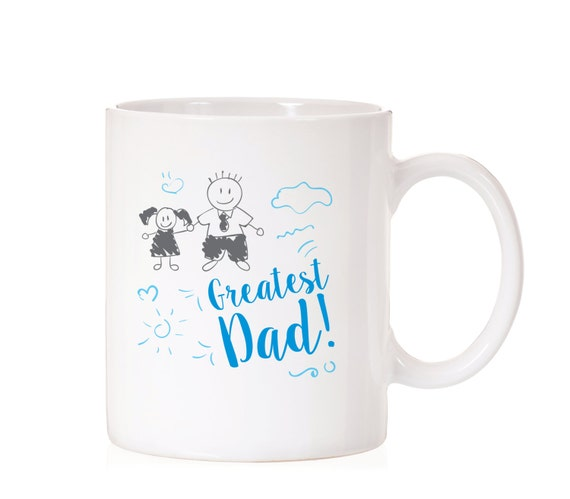 Father's Day Gift From Daughter | Father's Day Mug | Gift For Dad | Greatest Dad | Gift From Kids | For Dad | Daddy Mug From Daughter |