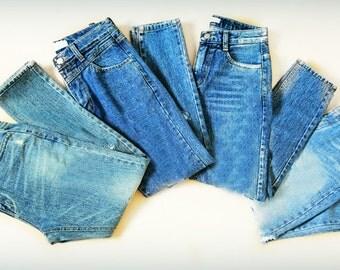 Basic High Waisted Jeans Vintage