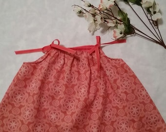 NEW - Isla O baby dress in Coral