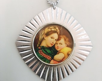 Mother and Child Large pendant