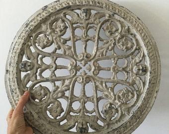 SALE!!! Ceiling rose metal decorative