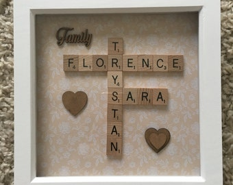 Family Name Frame - Small