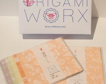Finest quality Japanese washi chiyogami paper