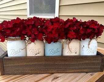 5 jar custom planter box
