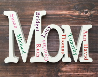 Personalized Mom Sign
