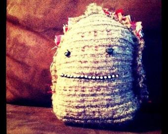 "Plush - art toy my guy is a shaman: ""Smile Email diamond"""