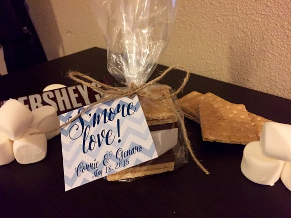 Favor with Bag, Twine and Hanging Tag - Personalized Favor Gift Kit ...