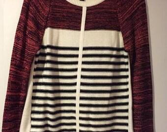 Aqua Stripe Sweater