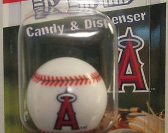 PEZ MLB Candy Dispensers, Los Angeles Angels of Anaheim Retro Vintage New In Package