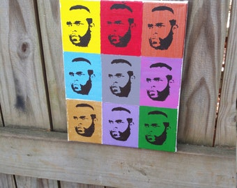 Mr. T Pop Art Painting FREE SHIPPING!