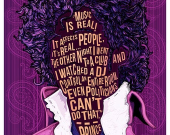 Famous Hair/ Lines: Prince