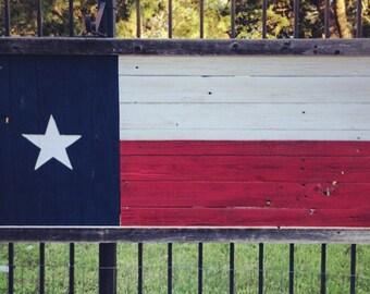 "Texas Flag / size 25"" x 53"""