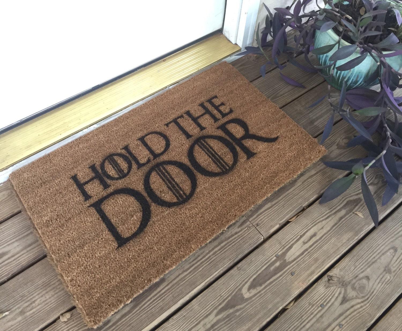 Game of Thrones Hold The Door mat
