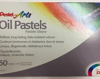 Oil Pastels set of 50 sticks