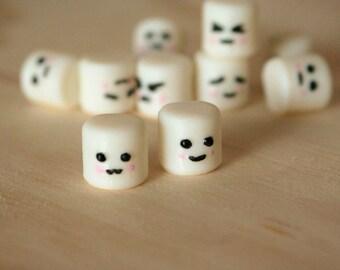 Marshmallow Push Pins, Thumbtacks, Bulletin Board, Cute desk supplies