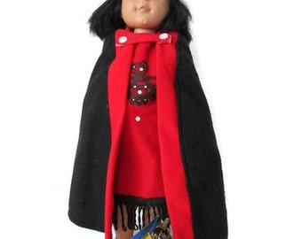 Eskimo Doll Button Blanket Doll