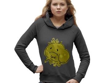 Women's Ink Splat Frog Prince Hoodie
