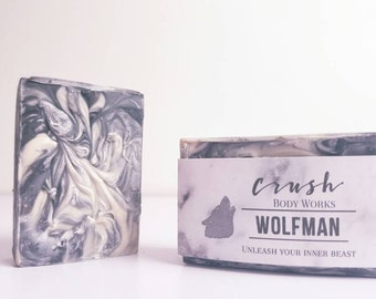 Men's Soap - Black Soap - Soap for Men - Musk - Handmade Soap - Cold Process Soap - Natural Soap - Artisan Soap - Vegan Soap - Bath And Body