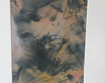 Original Encaustic Fusion Artwork