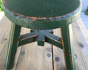 Asian Painted Stool