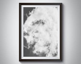 Cloud in the Sky ~ A3 29.7 x 42.0cm or A4 21.0 x 29.7cm Print ~ Available as print only
