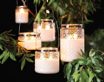 Jasmine Lime Citronella Candle