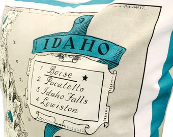 Idaho Pillow Cover with Insert
