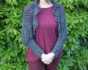 Shrug bolero jacket jacket anthracite Gr. 36-40