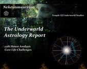 Astrology Reading, Horoscope, Natal Chart, Birth Chart:  The Underworld Report