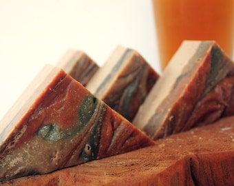 Ale Soap, Natural Soap, All Natural Soap, Bar Soap, Gift Soap, Novelty Soap, Beer Soap, Beer Lover Gift, Fall Soap, Autumn Soap, Vegan Soap