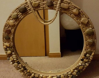 Coastal Stone Mirror