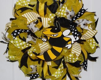 Yellow Jacket Wreath