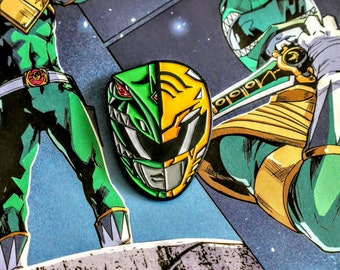 Green/White RANGER PIN