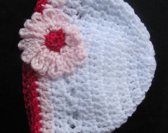 crochet  girls hat