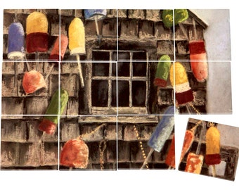 The Boathouse Ceramic Mural
