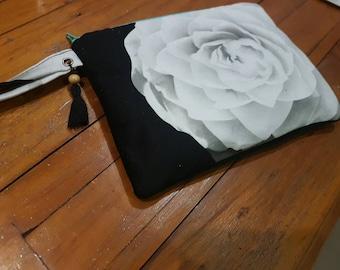 Monochrome Lust Clutch, accessories bag, purse, wristlet