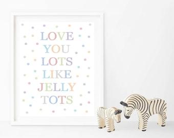 Jelly Tots - Prints