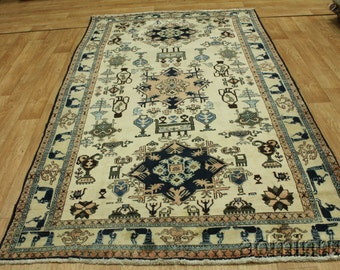 Archaeology Sultanabad Persian Oriental Area Rug Carpet 6X10