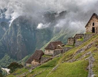 Machu Picchu Photography Print