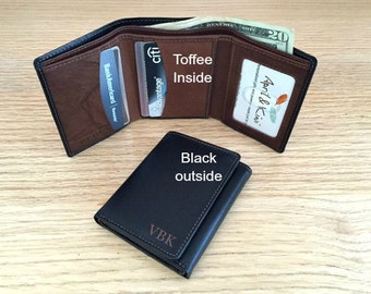 9th Anniversary Gift For Him O Leather Wedding Mens Wallet